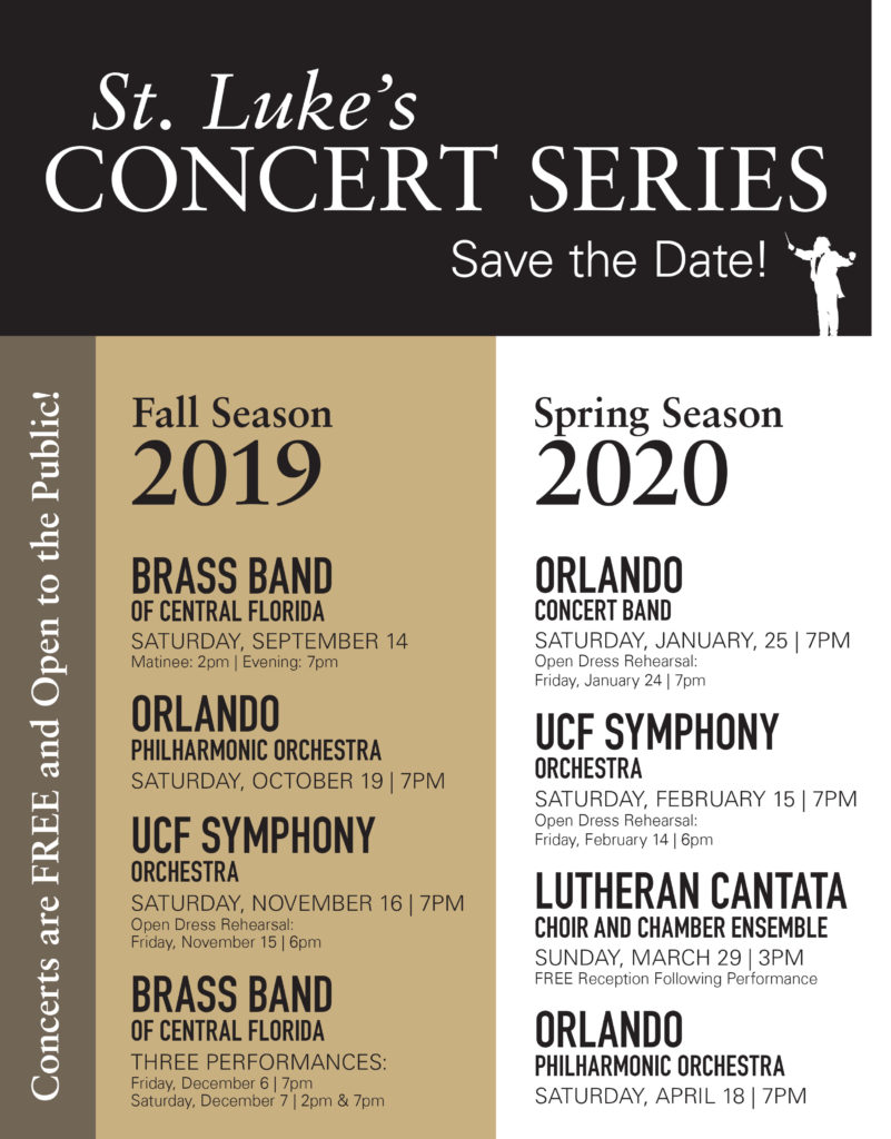 St. Luke's Concert Series Preview